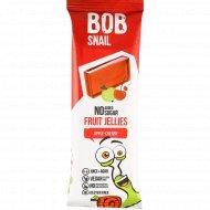 Мармелад фруктово-ягодный «Bob snail» яблоко-вишня, 38 г.