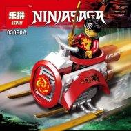 Конструктор «Lepin» 03090A NinjaGo Мини-фигура с автомобилем.