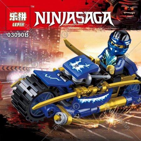 Конструктор «Lepin» 03090В NinjaGo Мини-фигура с автомобилем.