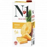 Сок «№1» ананасовый, 1 л.