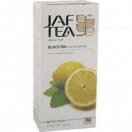 Чай черный «Jaf Tea» Sunny Lemon, 25 пакетиков.