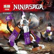 Конструктор «Lepin» 03090E NinjaGo Мини-фигура с автомобилем.