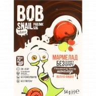 Мармелад «Bob Snail» яблоко-вишня в шоколаде, 54 г.