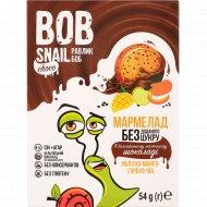 Мармелад «Bob snail» яблоко-манго-тыква-чиа, в шоколаде, 54 г.