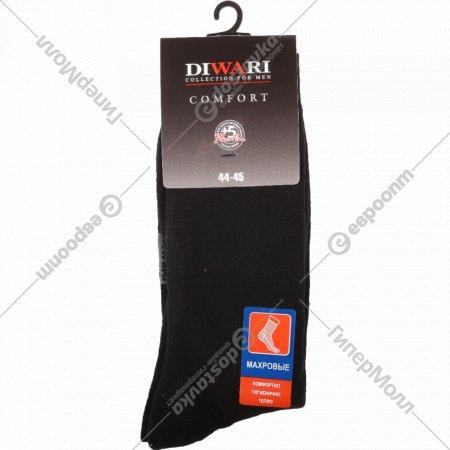 Носки мужcкие «DiWaRi» Comfort, черные, размер 29