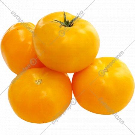 Томат желтый круглый, 1 кг., фасовка 0.5-0.7 кг