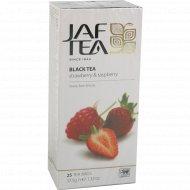 Чай черный «Jaf Tea» Strawberry & Raspberry, 25 пакетиков.