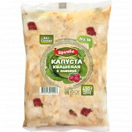 Салат «Капуста квашеная с клюквой» без сахара, 450 г.