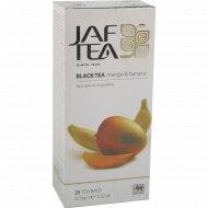Чай черный «Jaf Tea» Mango & Banana, 25 пакетиков.