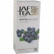 Чай черный «Jaf Tea» Blueberry Delight, 25 пакетиков.