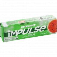 Жевательная резинка «impulse» без сахара, со вкусом арбуза, 14 г.