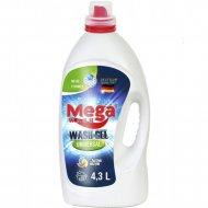 Гель для стирки «Mega Wash» waschgel universal, 4.3 л