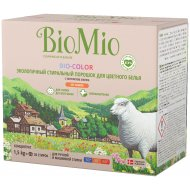 Экологичный стиральный порошок «Bio-Color» с экстрактом хлопка, 1.5 кг.