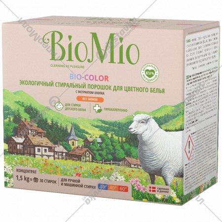 Экологичный стиральный порошок «Bio-Color» с экстрактом хлопка,1.5кг.