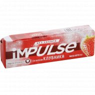 Жевательная резинка «impulse» без сахара, со вкусом клубника, 14 г.