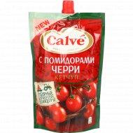 Кетчуп «Calve» с кусочками помидоров черри, 350 г.