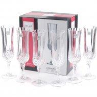 Набор бокалов для шампанского «Eclat» Longchamp, 6 шт, 140 мл