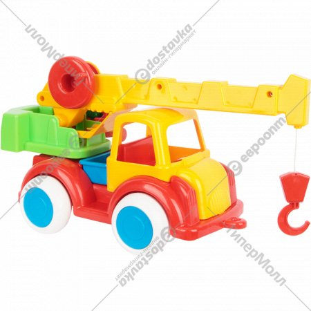 Игрушка «Автокран - Детский сад».