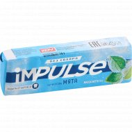 Жевательная резинка «impulse» без сахара, со вкусом мята, 14 г.
