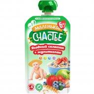 Пюре «Маленькое счастье» ягоды и злаки, 110 г.
