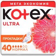 Прокладки женские гигиенические «Kotex» Ultra Norma, 40 шт.
