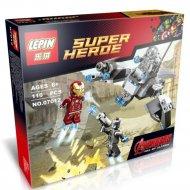 Конструктор «Lepin» 07012, Железный человек против Альтрона.