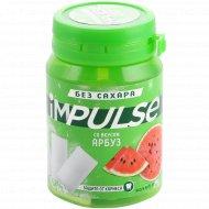 Жевательная резинка «impulse» без сахара, со вкусом арбуза, 56 г.