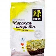Капуста морская «Мидори» с зеленым чаем, 5 г.