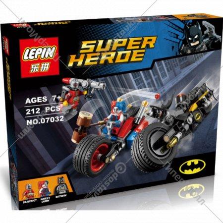 Конструктор «Lepin» 07032, Преследование Черной Пантеры.