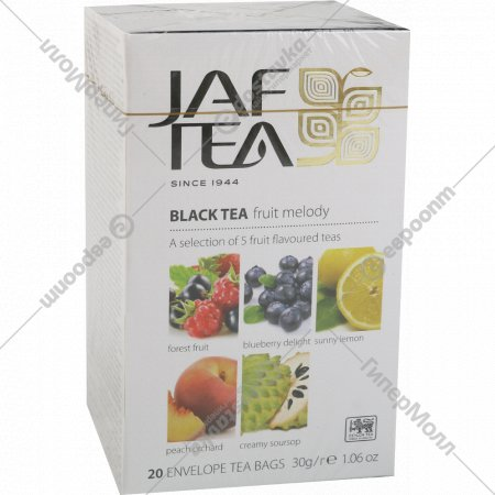 Чай черный «Jaf Tea» Fruit Melody, 20 пакетиков.