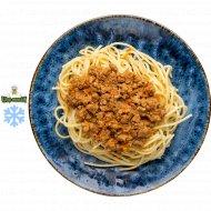 Спагетти с соусом «Болоньезе» замороженные, 250  г.