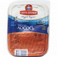 Закуска рыбная «Санта Бремор» из трески и лосося оригинальная 200 г.