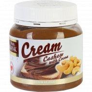 Крем из орехов кешью «Nuts Bank» с какао, 250 г.