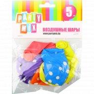 Игрушки надувные «Воздушные шары» горох, 5 шт.