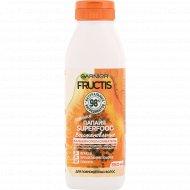 Бальзам для поврежденных волос «Fructis» папайя, 350 мл