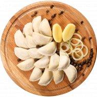 Полуфабрикат в тесте «Вареники с картофелем и луком» замороженный, 400  г.