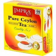 Чай черный «Impra» Ceylon Label Tea, 100х1.5 г