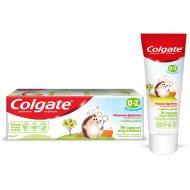 Зубная паста «Colgate» 0-2, нежные фрукты, 40 мл.