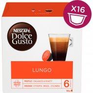 Кофе молотый «Nescafe Dolce Gusto Лунго» 16 капсул, 104 г.