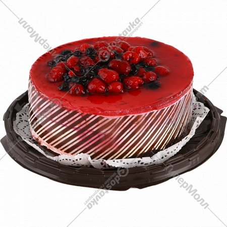 Торт «Малиново-черничный люкс», 900 г.