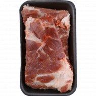 Свинина «Реберные пластины» 1 кг., фасовка 0.6-0.9 кг