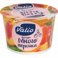 Йогурт «Valio» с персиком, 2.6%, 180 г.