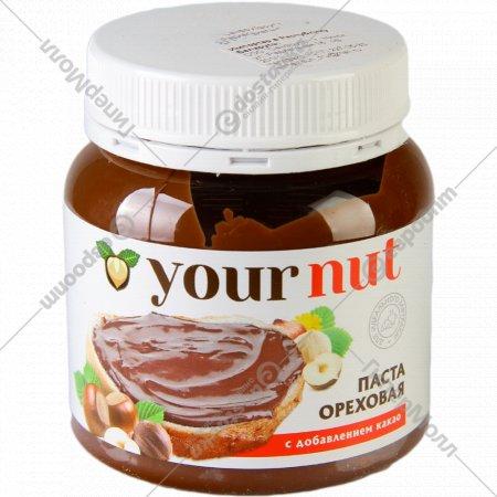 Паста ореховая «Your nut» с добавлением какао, 250г.