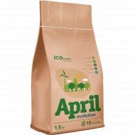 Стиральный порошок «April» Evolution EcoSolution, 1.5 кг