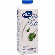 Йогурт питьевой «Valio» без наполнителя, 0.4%, 750 г.