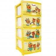 Детский комод «Три кота» игры.