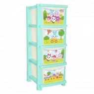 Детский комод для детской комнаты «Малышарики» 335 мм.