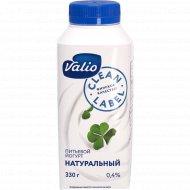 Йогурт питьевой «Valio» без наполнителя, 0.4%, 330 г.
