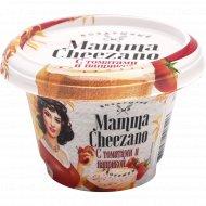 Творожный сыр «Mamma Cheezano» с томатами и паприкой, 60%, 150 г.