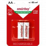 Аккумулятор «Smartbuy» AA/2BL 2700mAh, 2шт.